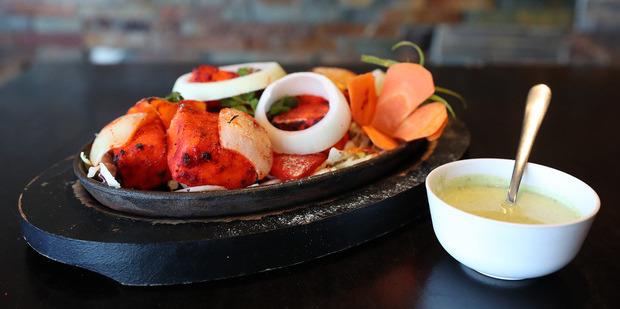 The paneer tikka dish at Paradise. Photo / Getty Images