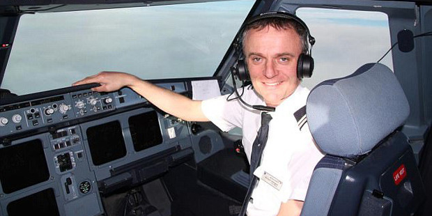 Richard Westgate (pictured) died in 2012. His brother believes contaminated cabin air was to blame. Photo / Facebook