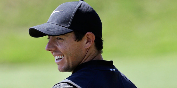 Rory McIlroy will be smiling after signing his latest deal with Nike. Photo / AP