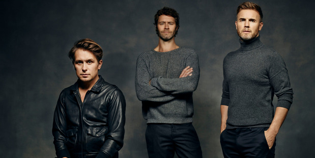 Take That are touring New Zealand for the first time in 22 years. Photo / Supplied