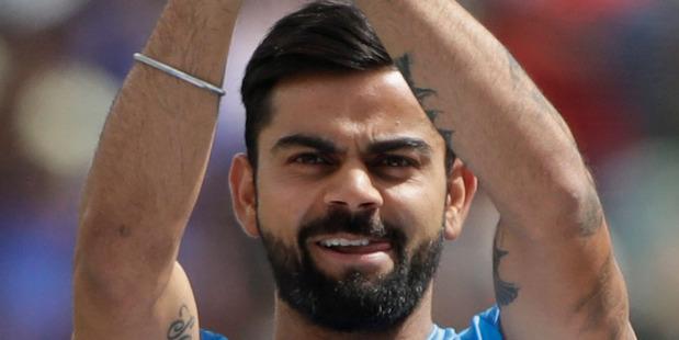 Indian skipper Virat Kohli. Photo / AP