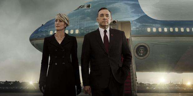 Netflix series House of Cards.