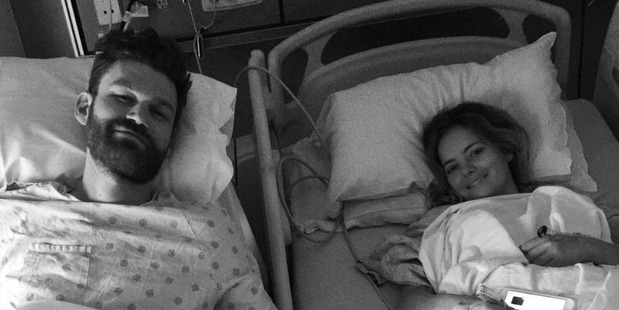 That 70's Show star Danny Masterson shared a photo of his wife Bijou Phillips after her life-saving kidney transplant. Photo / Instagram