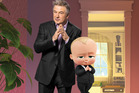 Alec Baldwin voices the Boss Baby in the new animated film from DreamWorks