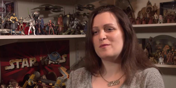 Loading Star Wars enthusiast Kristy Glasgow will head a panel on female fashion in the franchise at an international Star Wars convention in Orlando. Photo / nzherald