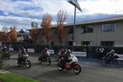 Riders in the Mountain Thunder motorcycle event in Methven. Photo / Facebook