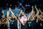 NZ players thank the fans in their Manila Olympic qualifying tournament. Photo / Photosport