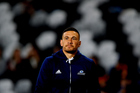 Sonny-Bill Williams looks on, prior to the Super Rugby match between the Highlanders and the Blues. Photosport