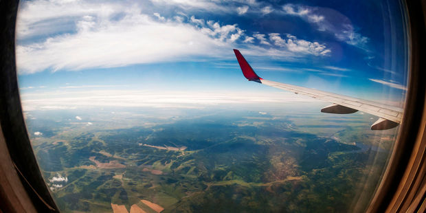 The next time you fly long haul, spare a thought for the environment. Photo / 123RF
