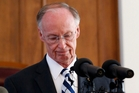 Alabama's Republican Governor, Robert Bentley, stepped down yesterday. Photo / AP