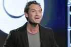 Jude Law will play a young Albus Dumbledore in the Fantastic Beasts and Where to Find Them sequel. Photo / AP