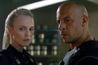 Charlize Theron and Vin Diesel in The Fate of the Furious. Photo/AP