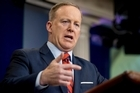 Sean Spicer went on to compare the chemical weapon attack to Adolf Hitler during World War II.