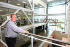 Kevin Obern, managing director of OfficeMax New Zealand, at its office in Highbrook business park. Photo/NZME