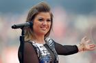 American singer Kelly Clarkson. Photo / Brett Phibbs