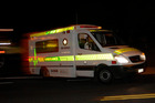 Ambulance services have been called to a car versus truck crash. Photo/Michael Craig