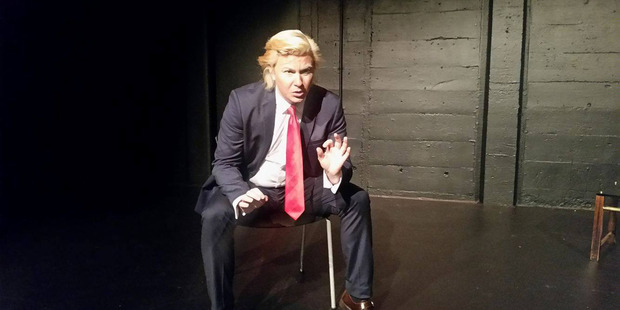Loading Kiwi Alexander Sparrow has been chosen as one of the world's top 10 Trump impersonators. Photo / supplied