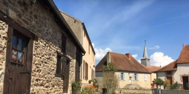 The picturesque French farming village of Auge. Photo / YouTube