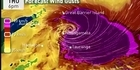 WATCH: NIWA track of Cyclone Cook over New Zealand