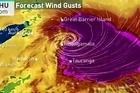Watch NIWA's super high resolution 1.5 km model predicting Cyclone Cook making landfall just south of Whangamata tonight.