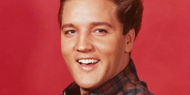 American singer and actor Elvis Presley (1935 - 1977), circa 1956. Photo / Getty