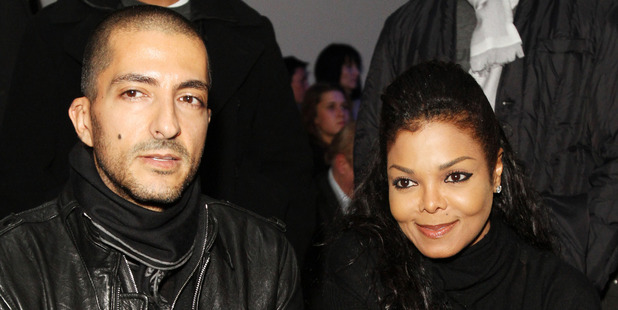 Wissam Al Mana and Janet Jackson, 2012 in Moscow, Russia. Photo / Getty