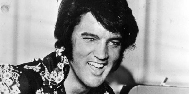 Circa 1975: American popular singer and film star Elvis Presley. Photo / Getty