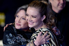 Actress Carrie Fisher and daughter/actress Billie Lourd. Photo / Getty