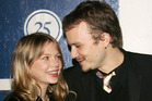 Actor Heath Ledger and his girlfriend actress Michelle Williams in 2005. Photo / Getty