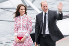 The Duchess of Cambridge wearing Alexander McQueen for the 2016 Royal Tour of Canada. Photo / Getty Images