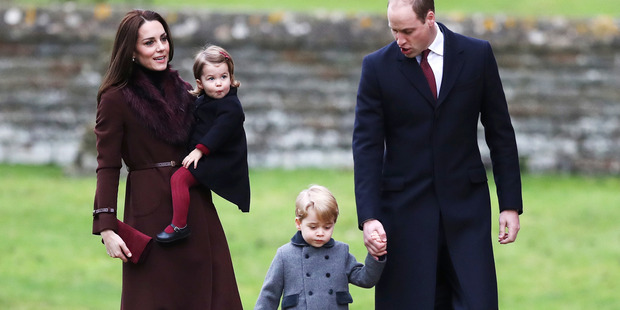 Princess Charlotte and Prince George will have special roles in Pippa's wedding. Photo / Getty
