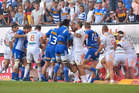 The Stormers made their intent obvious early in their win over the Chiefs. Photo / Getty