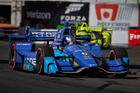 Scott Dixon during the Grand Prix at Long Beach IndyCar race. Photo / Getty Images