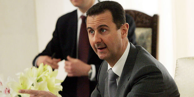 Greater pressure is being placed on the departure of Syrian President Bashar al-Assad, whose family have ruled Syria since 1971. Photo / AP