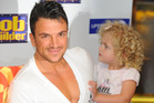 Peter Andre and daughter Princess back in 2010. Photo / Getty