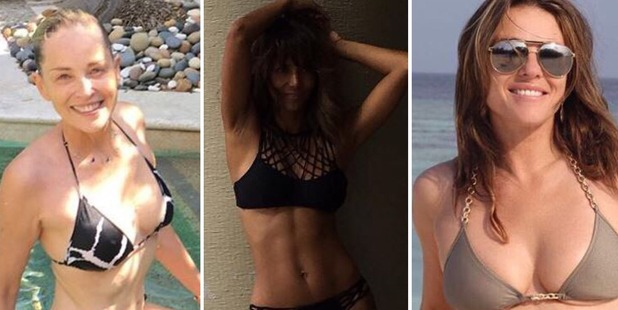 Staying bikini-fit is a challenge any age but these stars have maintained their physiques well into their 50s.