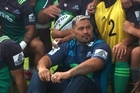 Mark Hunt met the Blues today in prep for his grand return to fight in New Zealand.