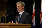 Prime Minister Bill English. New Zealand Herald photo by Mark Mitchell