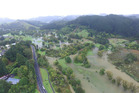 Parts of Whangamata are already flooding. Photo / File
