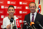 Are Jacinda Ardern and Andrew Little seeing an upturn for Labour? Photo / Mark Mitchell