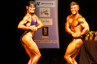Alison Richards and Daniel Foulkes in the Mixed Pairs pose at the NABBA Manawatu/Wanganui/Taranaki championships on Saturday. Foulkes would go on to win the Overall Mr Physique title.