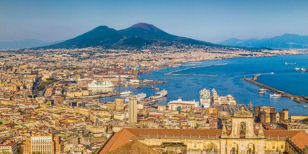Vesuvius could repeat its destruction of  Pompeii with Naples. Photo / 123RF