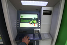 This ATM machine on Grey St was targeted by bankcard skimmers. Photo/John Borren.