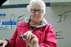 Grammar cop Margi Keys.