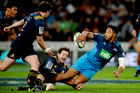 The Blues attacking play against the Highlanders was at times inspired, but they lacked the execution. Photo/PHOTOSPORT.