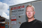 Glen Yare said he couldn't believe wheel clamping was legal after being fined $150 for parking illegally for less than five minutes. Photo/ Doug Sherring