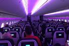Inside an Air New Zealand economy class cabin. Photo / Aimee Shaw