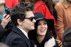John Mayer and Katy Perry. Photo / AP