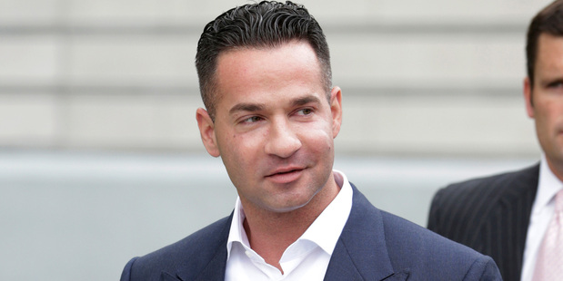 "Mike ""The Situation"" Sorrentino leaves the MLK Jr. Federal Courthouse, 2014. Photo / AP"