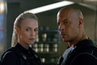 Charlize Theron and Vin Diesel in The Fate of the Furious. Photo / AP